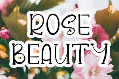 Rose Beauty Font - Best Display Font For your Business