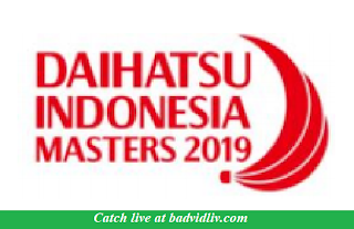 Indonesia Masters 2019 live streaming