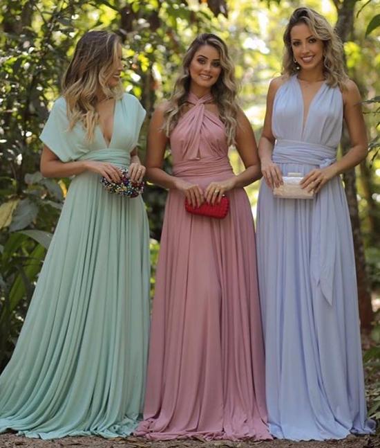 vestido de festa jeitos de amarrar multiformas