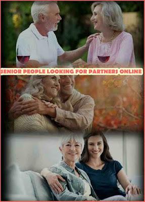Senior People Looking for Partners Online, Senior People
