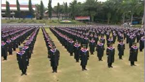 Polres Sumedang Gelar Pengamanan Dengan Prokes Ketat Pada Pelaksanaan Wisuda Praja IPDN Angkatan XXVIII Tahun 2021