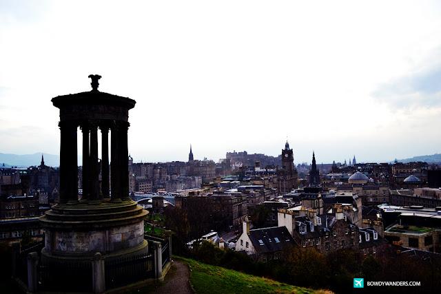 bowdywanders.com Singapore Travel Blog Philippines Photo :: Scotland :: The Calton Hill in Scotland:  Photographs Of Edinburgh's Most Outstanding Panorama