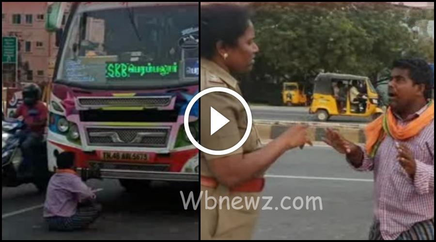 ஓடும் பேருந்தில் கடனுக்கு டிக்கெட் கேட்டு பூசாரி அட்டகாசம்..! வீடியோ