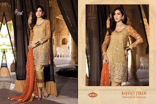 Shree fab Maryams Embroidered collection pakistani Suits