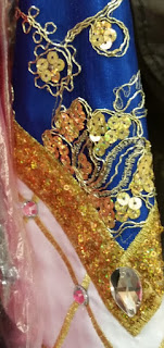 irish dance dress close up 2