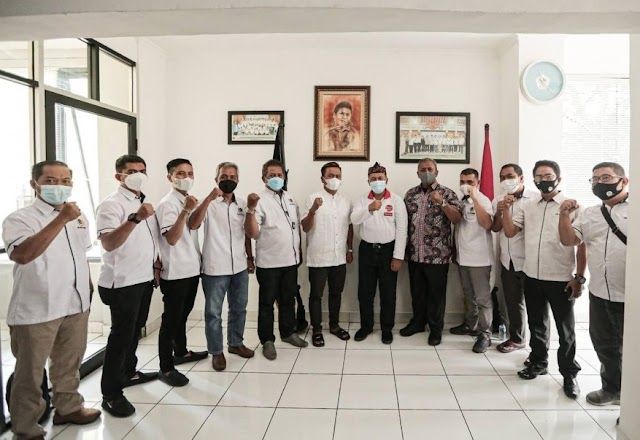 Mang Oded Ajak PWI Kota Bandung Berkolaborasi dan Bersinergi Dengan Pemkot Bandung