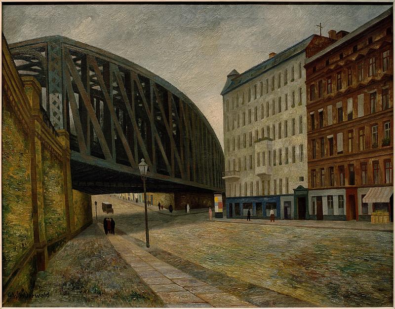 Gustav Wunderwald Painter Of Berlin Weimar Berlin