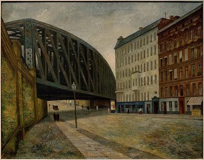 Gustav Wunderwald - Bridge over Ackerstrasse - 1927