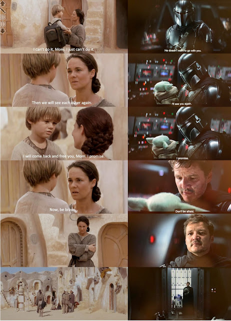 two goodbyes star warr