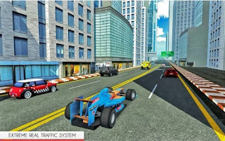 Game Top Speed ​​Jalan Raya CarRace App