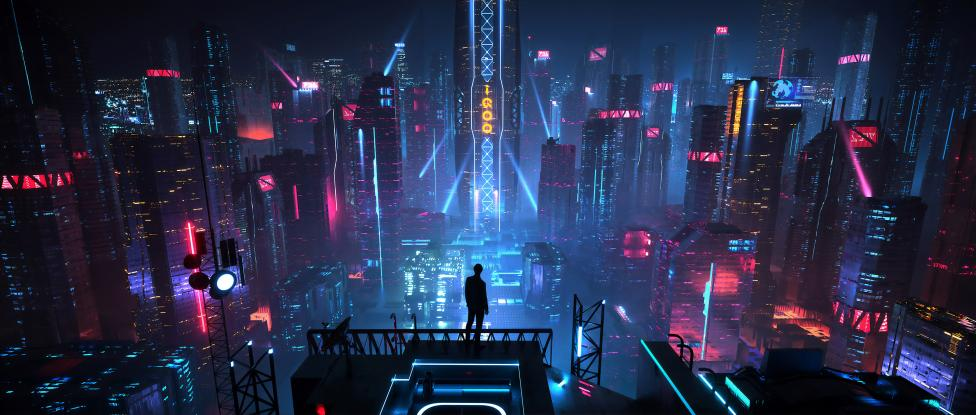 Buildings City at Night 4k Ultra HD Wallpaper