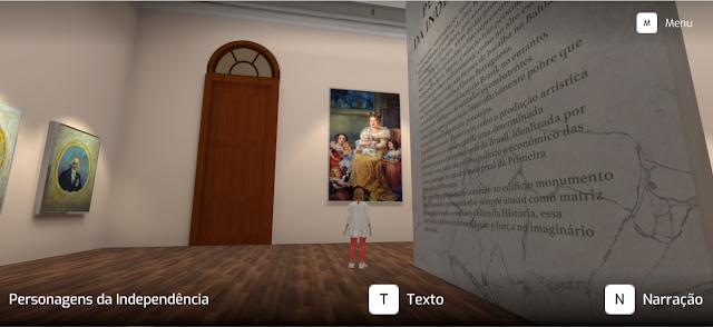 Tour virtual no Museu do Ipiranga