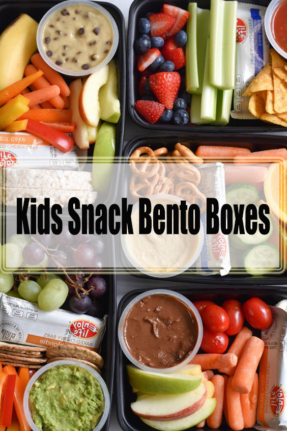 Kids Snack Bento Boxes