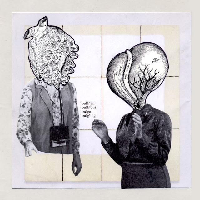 Alien creature collages