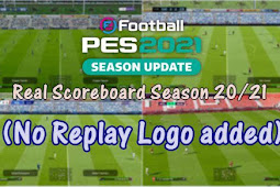 Real Scoreboards and Replays 2.0 - PES 2021