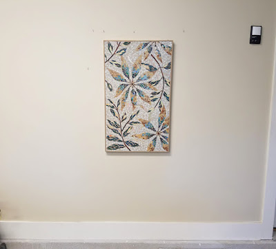 art studio wall makeover