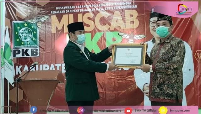 DPC PKB Rembang Dapatkan Penghargaan Dari Bupati Dalam Penyampaian LPJ