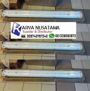 Jual Lampu Anti Pecah TL Waterproof 2×36 watt LIKO di Madiun