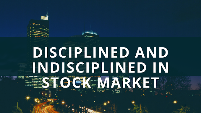 Difference between discipline and indicipline traders