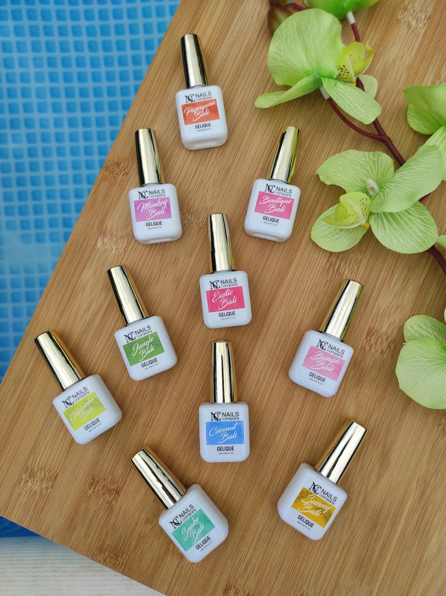 Tropical MADNESS - mocno kolorowa kolekcja lakierów NC Nails Company