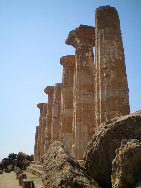 Templo de Hércules, Valle de los Templos Agrigento