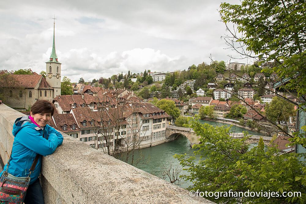 puente Nydeggbrücke en Berna, Suiza