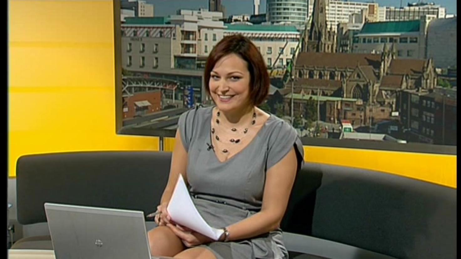 Uk Regional News Caps Kate Fisher Itv Central