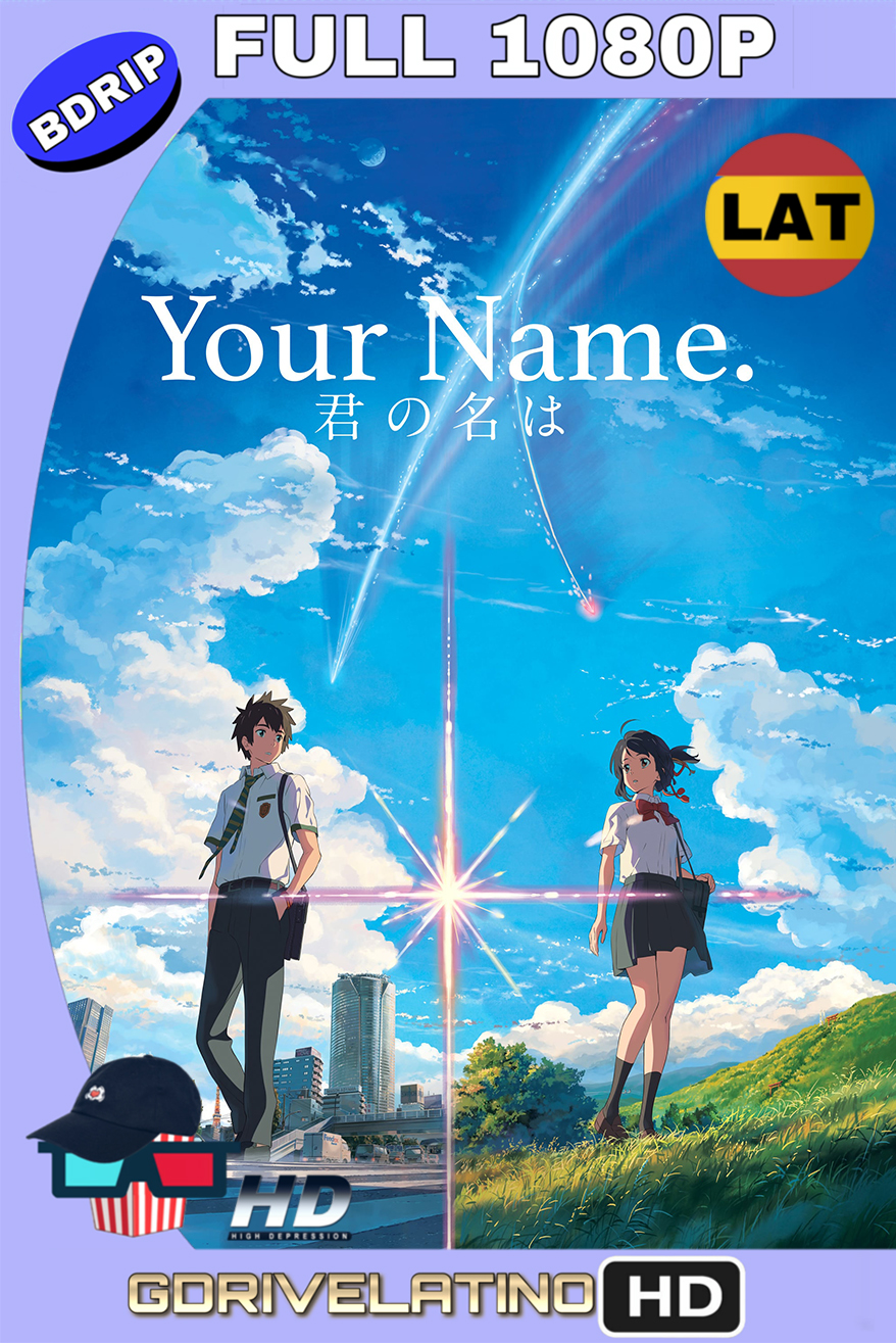 Your Name. (2016) BDRip FULL 1080p (Latino – Japonés) MKV