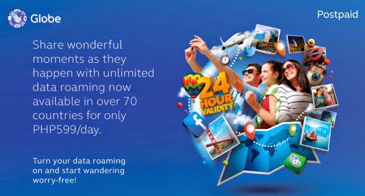 Globe Telecom Offers Data Roaming with Travel Insurance