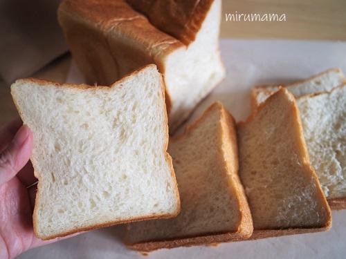 細かくカットした食パン