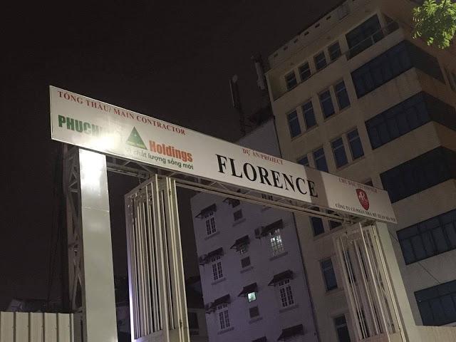 Hình ảnh thực tế dự án Florence Mỹ Đình
