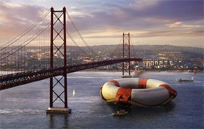 Manipulación o fotomontaje  fotográfico  puente de san francisco