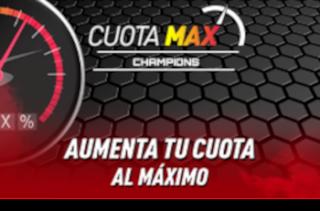 sportium promo CuotaMax Champions 1-2 octubre 2019