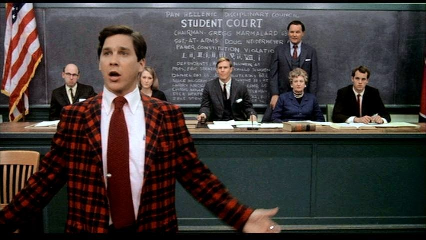 A Boat Against the Current  Movie Quote of the Day   Animal House      At the Student Court involving Delta House  Dean Wormer has made  abundantly clear that the disciplinary proceedings will be stacked against  the fraternity