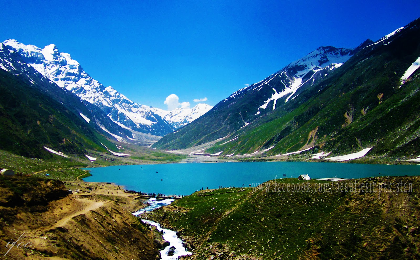 Image result for Lake Saiful Muluk famous picture