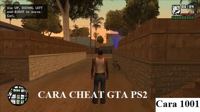 Cara Cheat GTA PS2