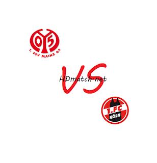 مشاهدة مباراة كولن وماينز 05 بث مباشر مشاهدة اون لاين اليوم 17-5-2020 بث مباشر الدوري الالماني يلا شوت fc koln vs fsv mainz 05