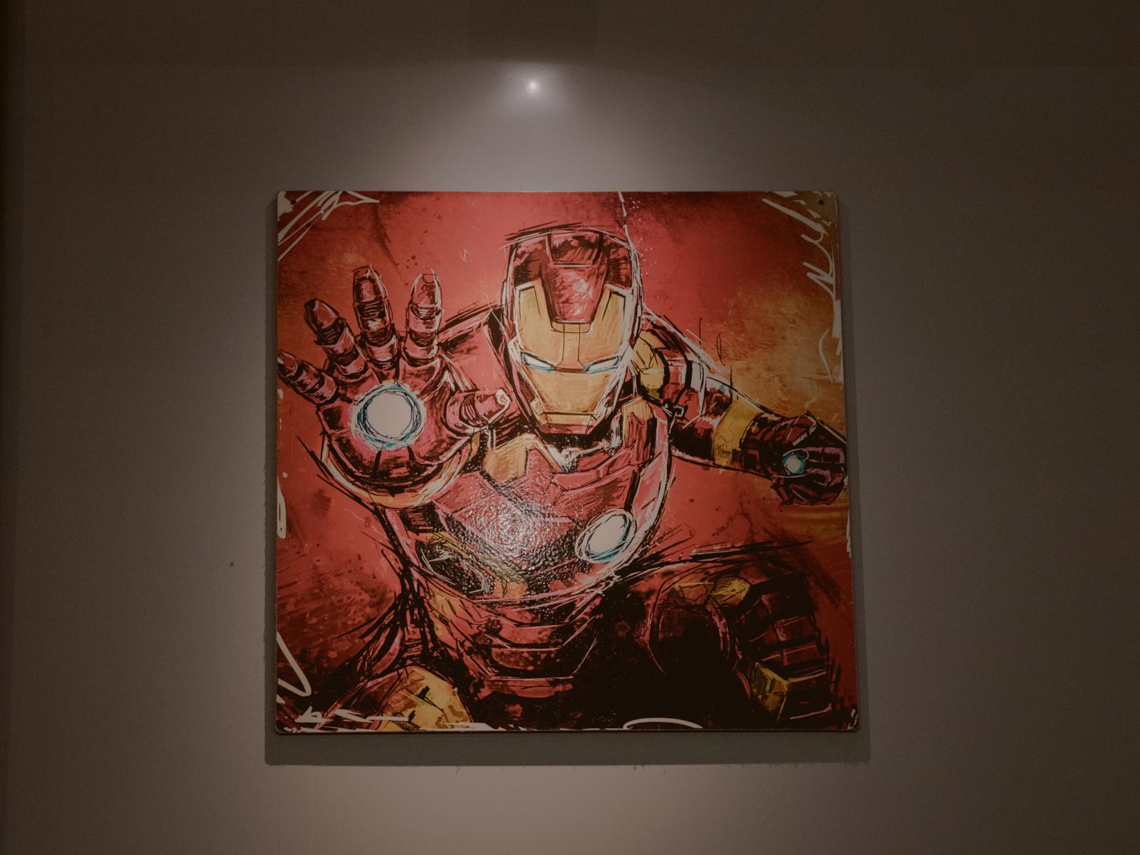 quadro homem de ferro