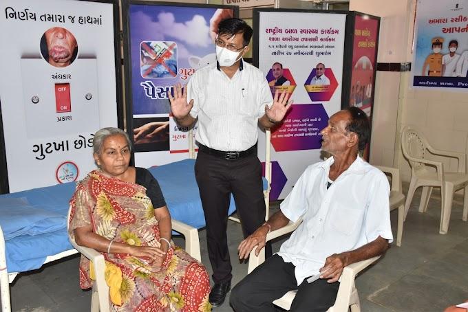 કોરોનાને મ્હાત આપવા ૬૭ વર્ષિય ખુમાનસિંહ તેમની પત્ની સાથે કોવીશીલ્ડ રસી લીધી અને કહ્યુ આવું