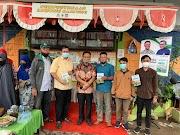 Rumah Koran Ikuti Wakaf Buku, AYO Membangun Desa Oleh Dr. Amir Uskara M.Kes