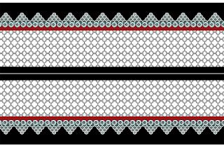 Vector-art-textile-saree-border