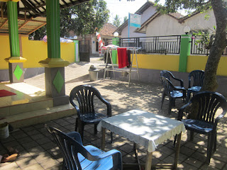 Kampung Osing Inn Outdoor Sitting Area