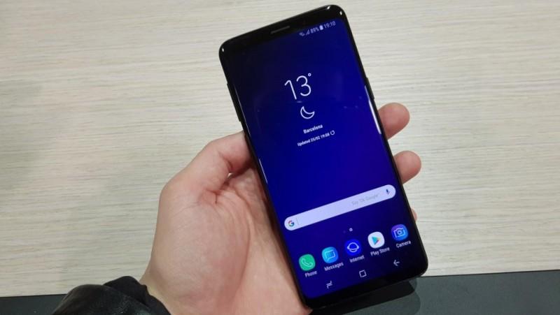 Penampakan Samsung Galaxy S9