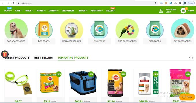 Petsplaza affiliate shops for sales.