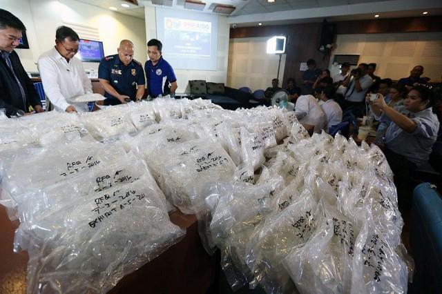 Customs Confiscates P1.173B Worth Of Drugs Under Duterte Admin