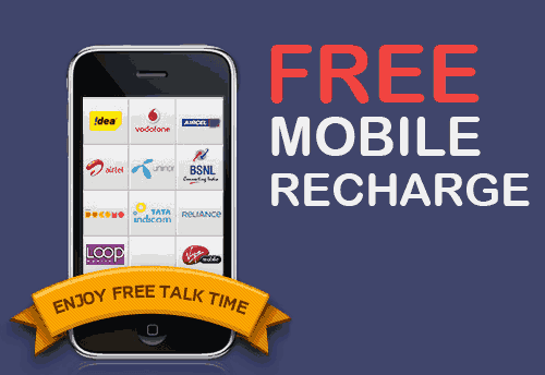 (New) Free Rs.10 Recharge In All Numbers By Just Giving Misscall