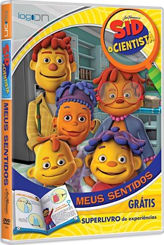dvd sid o cientista meus sentidos