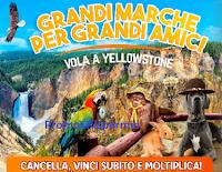 Logo Isola dei Tesori ''Vola a Yellowstone'': vinci 15.000 buoni spesa (moltiplicabili) e 6 viaggi a Yellowstone