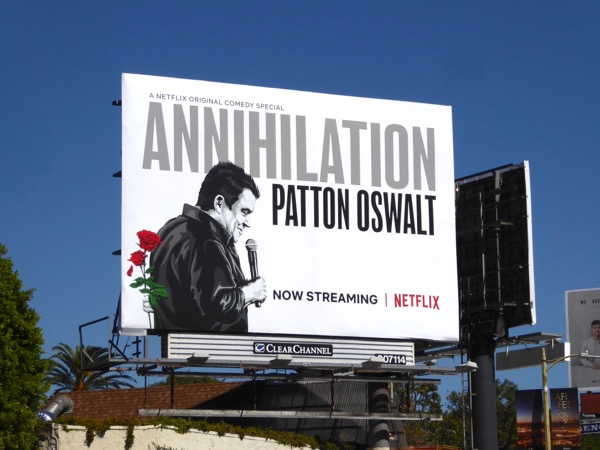 Annihilation Patton Oswalt billboard