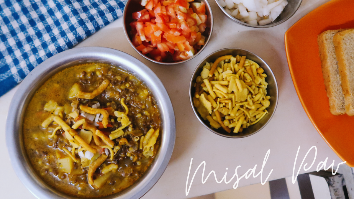 spicy misal recipe